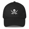 Black Pirate Flag Dad Hat