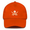 Orange Pirate Flag Dad Hat