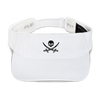 White Captain Jack Visor