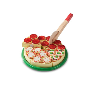 Pizza Party Wooden Play Set