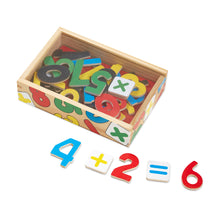 Load image into Gallery viewer, Magnetic Wooden Numbers