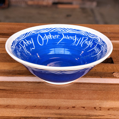 Customized Wedding Bowl