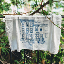 Load image into Gallery viewer, Rowhouses Tea Towel