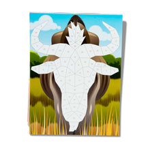 Load image into Gallery viewer, Safari Animals Mosaic Sticker Pad