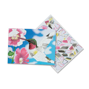 Nature Mosaic Sticker Pad