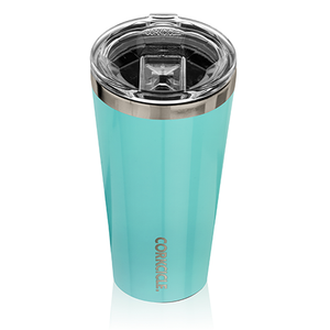 Corkcicle Tumbler, Gloss Turquoise by corkcicle at local housewares store Division IV in Philadelphia, Pennsylvania