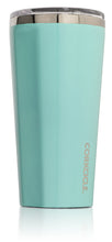 Load image into Gallery viewer, Gloss Turquoise Corkcicle Tumbler