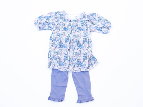 Savannah Ruched Tunic and Bloomer Set