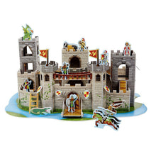 Load image into Gallery viewer, Medieval Castle 3D Puzzle