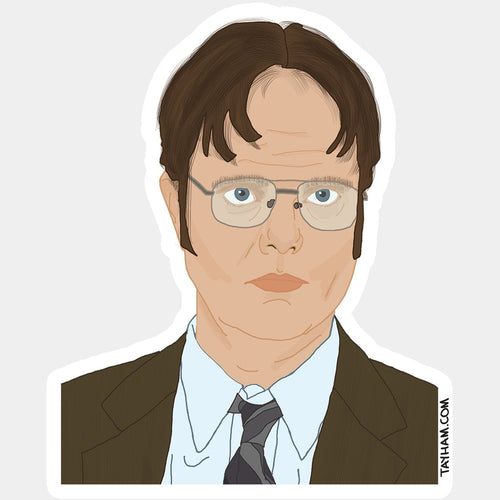Dwight Schrute Office Sticker
