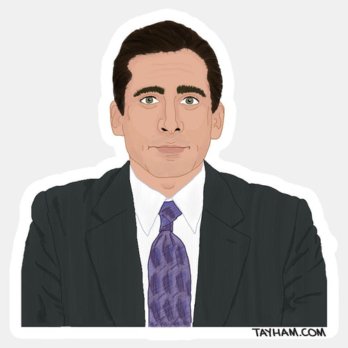 Michael Scott Office Sticker