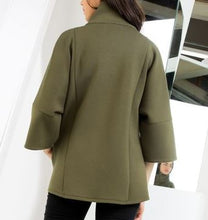 Load image into Gallery viewer, Olive Scuba Jacket