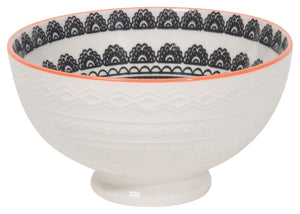Casablanca Embossed Bowl by now designs at local housewares store Division IV in Philadelphia, Pennsylvania