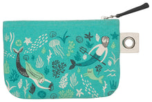 Load image into Gallery viewer, Sea Spell Small Zipper Pouch