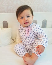 Load image into Gallery viewer, Sophia on White Bow Romper