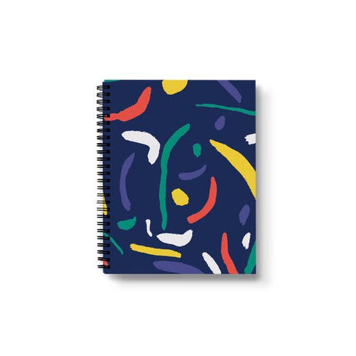 Boldly Go Spiral Notebook