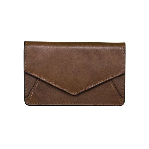 Toffee Envelope Business Card Wallet