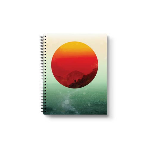 Sunrises Spiral Notebook