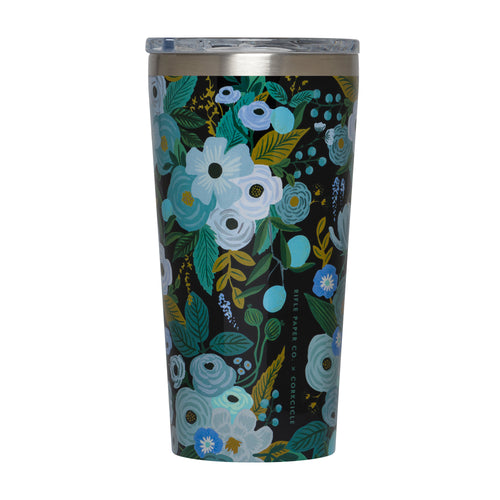 Garden Party Rifle Paper Corkcicle Tumbler