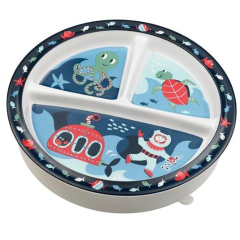 Ocean Divided Suction Plate