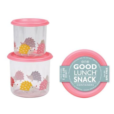 Hedgehog Good Lunch Snack Containers