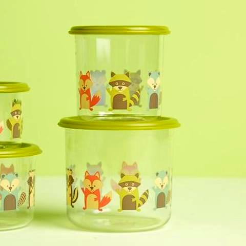 What did the Fox Eat? Snack Containers