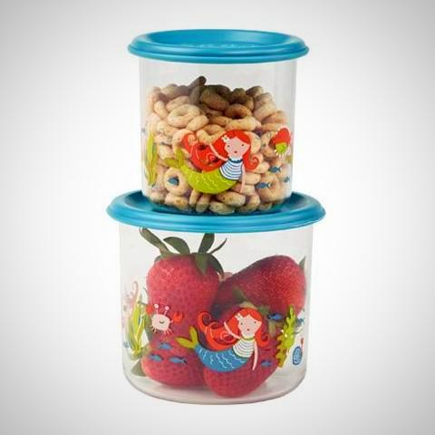 Isla Mermaid Snack Containers