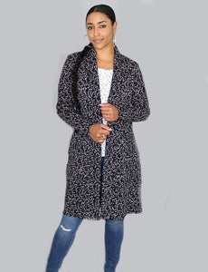 Brooklyn Black Long Cardi