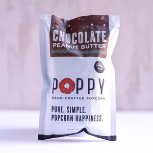Chocolate Peanut Butter Poppy Snack Bag