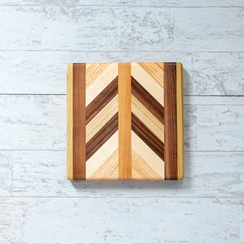 Small Square Herringbone Board