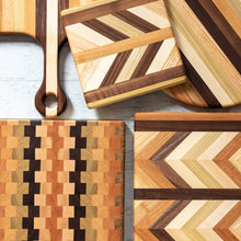 Load image into Gallery viewer, Herringbone Cutting Board