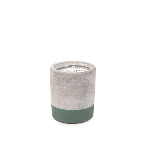 Eucalyptus & Santal Urban Concrete Candle