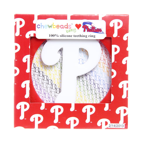 Phillies Teether by ChewBeads  - Ali's Wagon. Children's