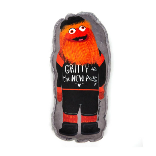 Gritty is the new Pretty Pillow