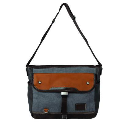 Parkland Messenger Bag in Grey