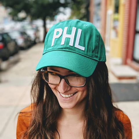 Green PHL Baseball Hat