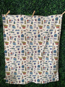 Philly Favorites Baby Blanket
