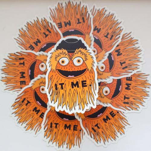 It Me Gritty Sticker
