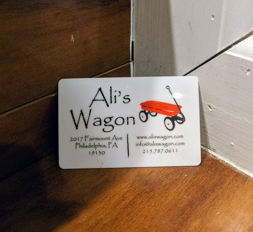 Ali's Wagon Gift Card