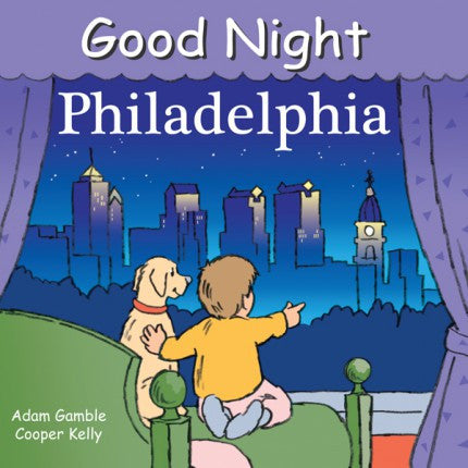 Good Night Philadelphia by Independent Publishers Group at local Fairmount shop Ali's Wagon in Philadelphia, Pennsylvania