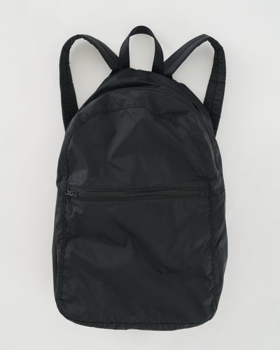 Black Ripstop Backpack