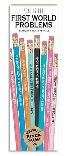 First World Problems Pencils
