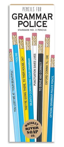 Grammar Police Pencils