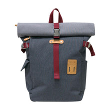 Load image into Gallery viewer, Grey Rolltop PLUS Backpack