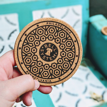 Load image into Gallery viewer, Philadelphia Manhole Coasters