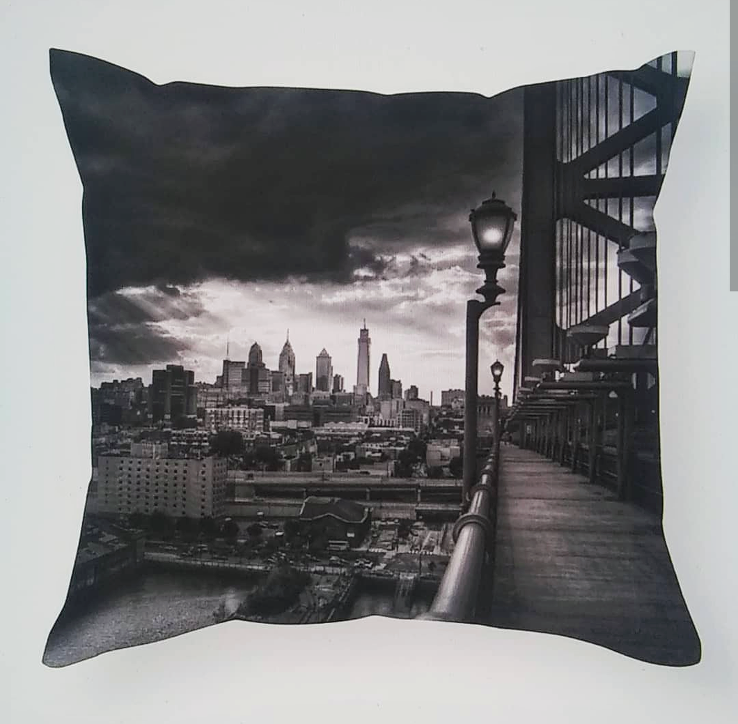 City View Ben Franklin Pillow