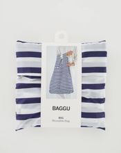 Load image into Gallery viewer, Sailor Stripe Baggu Reusable Bag