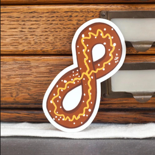 Philly Soft Pretzel Sticker