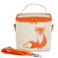 Load image into Gallery viewer, Orange Fox Cooler Lunch Bag