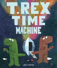 Load image into Gallery viewer, T. Rex Time Machine by Jared Chapman